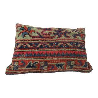 Vintage Turkish Kilim Handmade Pillow Cover For Sale