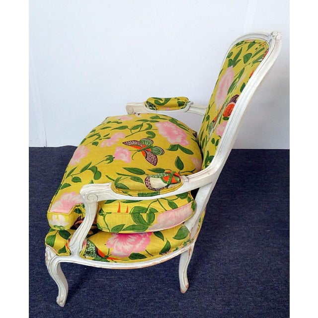Art Deco Last Call B. Altman & Co. New York Bergere Chairs - a Pair For Sale - Image 3 of 4