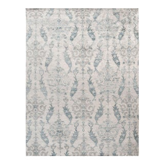 Stark Contemporary New Oriental Rug - 9′ × 12′