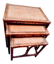 Image of English Traditional Nesting Tables