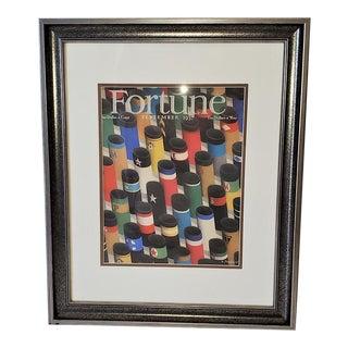 Art Deco Fortune Magazine Cover, Sept 1937 For Sale