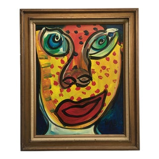 """""""My Friend Mick Jagger"""" Painting by Peter Keil For Sale"""