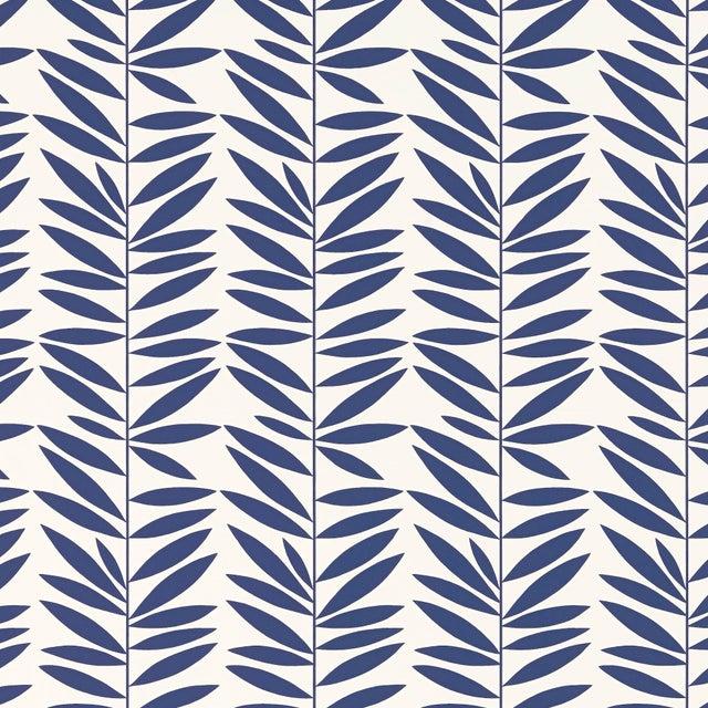 In Schumacher Stripe Wallpaper Leaf MarineChairish mN0w8nv