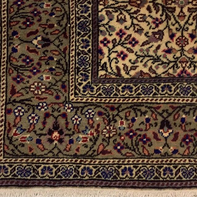 "Floral Kayseri Carpet - 6'6"" x 9'4"" For Sale - Image 5 of 5"