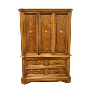 "Drexel Marchesa Collection Italian Neoclassical 42"" Armoire For Sale"
