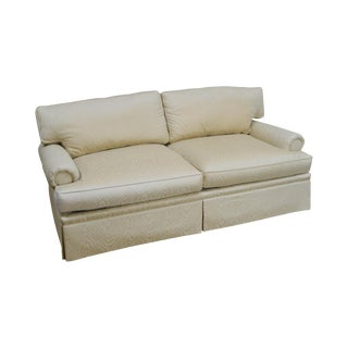 Henredon Custom Upholstered Traditional Sofa (A) For Sale