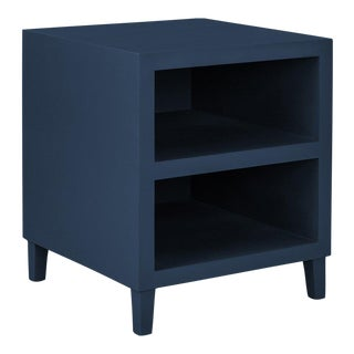 Elza End Table in Blue For Sale