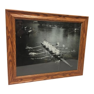 Contemporary English Photo of Henley Sculling Crew, Framed For Sale