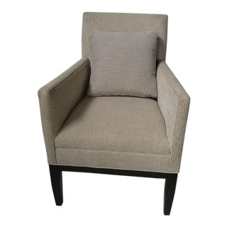 Bernhardt Contemporary Fabric Chair For Sale