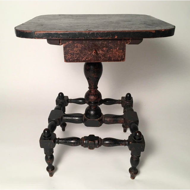 Early American Country Side Table, circa 1820-1830 - Image 6 of 9