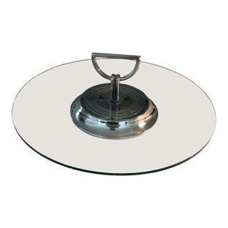 "Truex American Furniture Original ""Christofle Vibrations"" Platter For Sale"