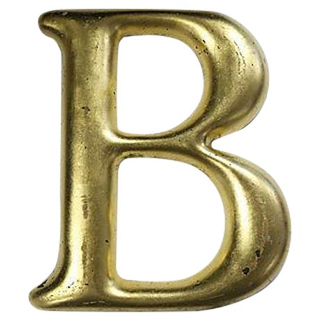 "Vintage English Pub Sign Letter ""B"" - Image 1 of 3"