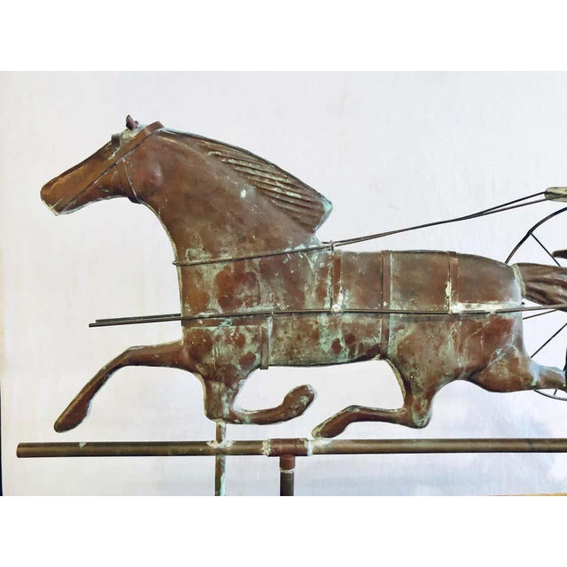 St. Julien Weather Vane Attributed to j.w. Fiske 19th Century Full Bodied Metal For Sale - Image 4 of 12