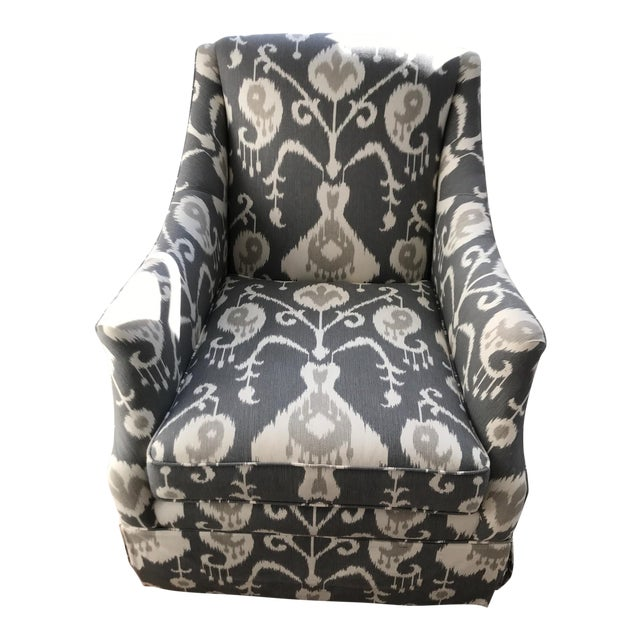 Lillian August Swivel Glider Chair For Sale