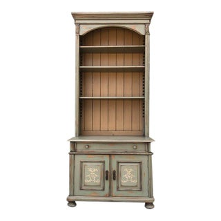 20th Century Traditional Handmade European Display Cabinet For Sale