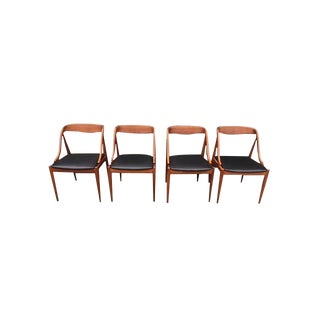 Mid-Century Danish Teak Side Chairs- Set of 4 For Sale