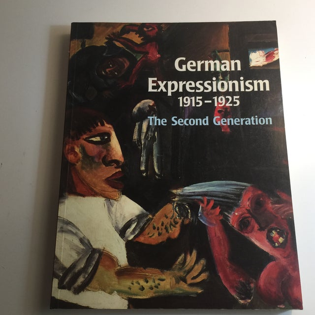 """""""German Expressionism 1915-1925"""" Art Book For Sale - Image 11 of 11"""
