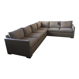 Younger + Co. Custom Sectional Sofa For Sale