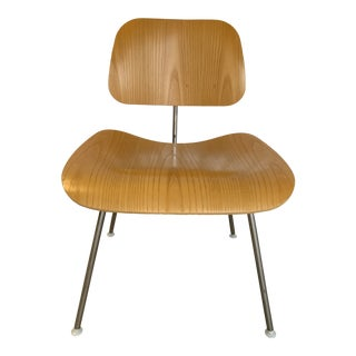 Eames Dining Chair Metal in Ash For Sale