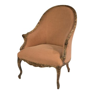 Sarreid Ltd Old Red Chalais Tub Chair For Sale