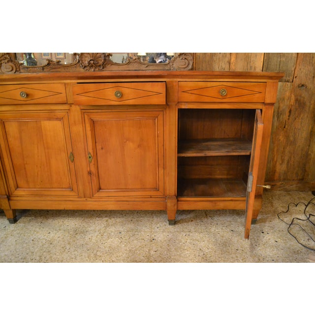 Antique French 19th Century Directoire Enfilade Sideboard For Sale - Image 4 of 7