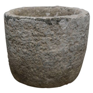 Tabletop Granite Stone Vessel For Sale