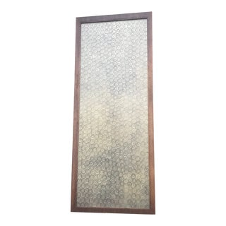 Mid Century Modern Pocket Door For Sale