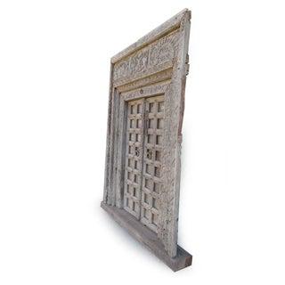 Antique Indian Door W/Surround Preview