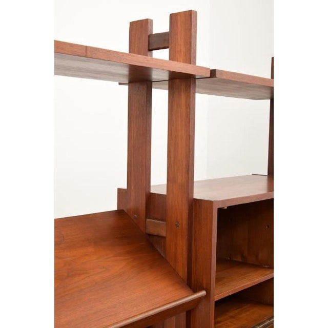 Shelving Unit and Desk by Poul Cadovius, Denmark, 1965 For Sale In Miami - Image 6 of 9