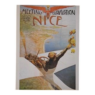 Vintage Poster by Listed Artist - Nice, France For Sale