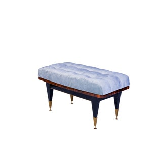 Petit French Art Deco Sitting Bench