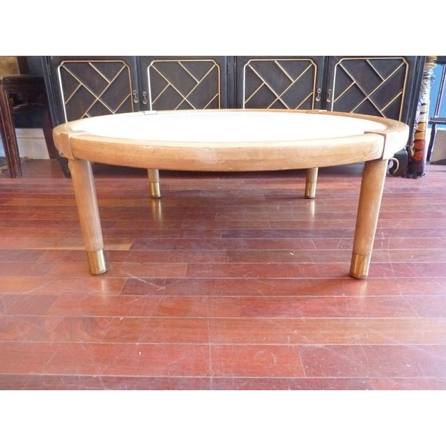 Mid Century Modern Marble Coffee Table - Image 2 of 9