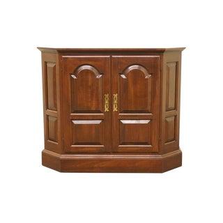 Ethan Allen Georgian Court Console Cabinet For Sale