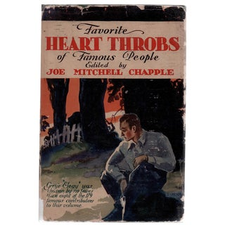 """1929 """"Favorite Heart Throbs of Famous People"""" Hardcover Book"""