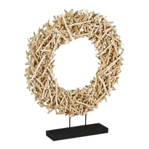 Phillips Collection Stick Circle Sculpture For Sale