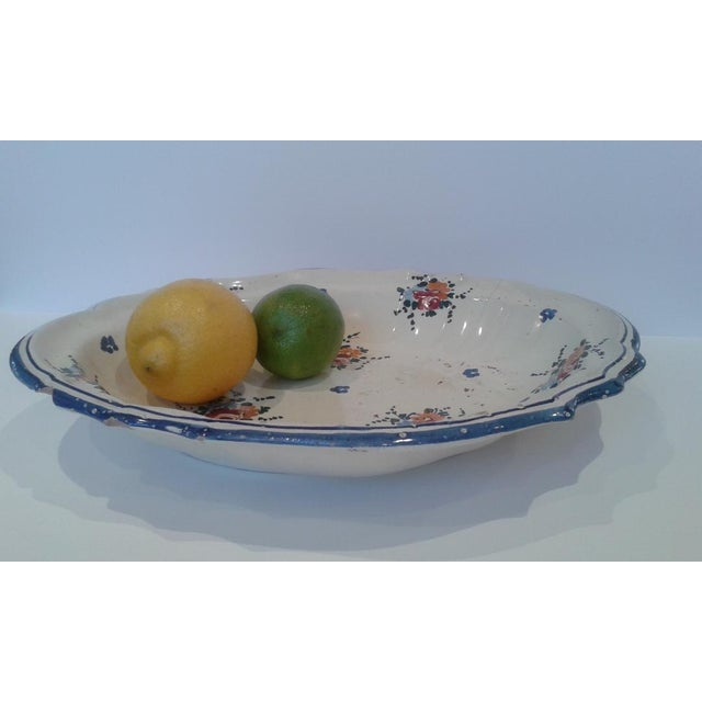 Vintage Hand-Painted Italian Fruit Platter For Sale In Washington DC - Image 6 of 12