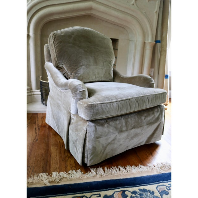 English Baker Furniture English Arm Chair For Sale - Image 3 of 7