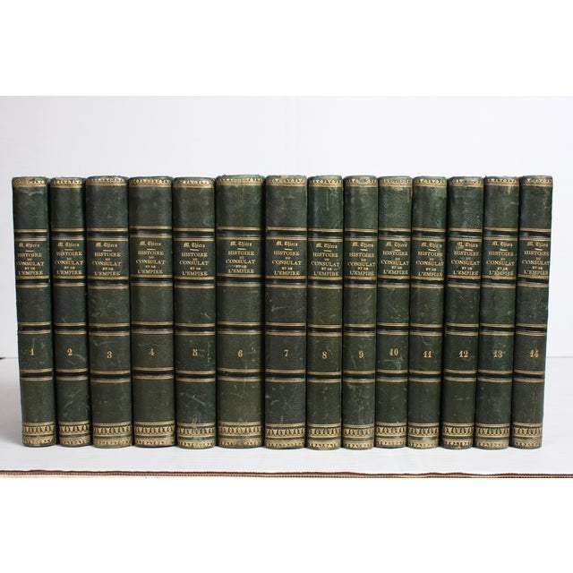 19th C. French Leather-Bound Books - Set of 14 - Image 2 of 4