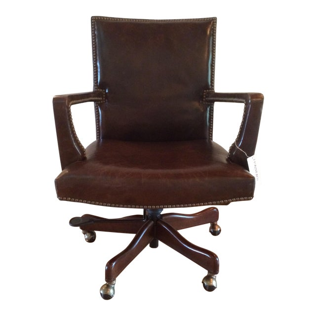 Hooker Furniture Wingate Executive Chair For Sale