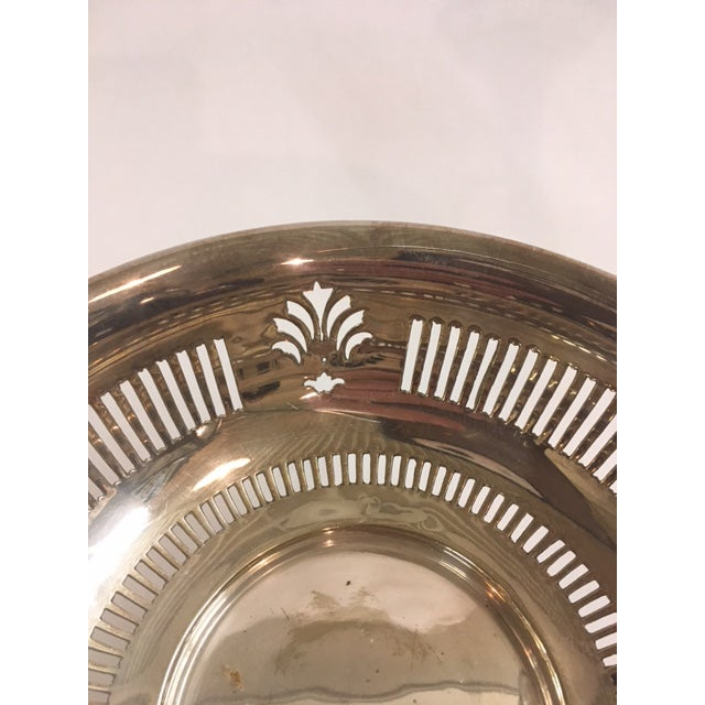 English Silverplated Epergne For Sale - Image 4 of 4