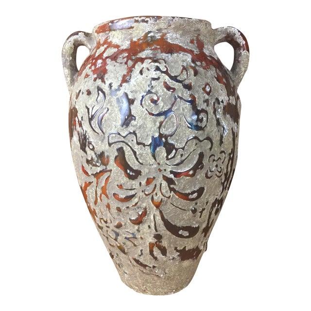 Boho Raised Glaze Vase - Image 1 of 9