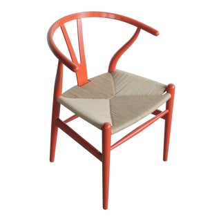 Vintage Hans Wegner Wishbone Chair For Sale