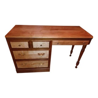 Heywood Wakefield Bird's-Eye Maple Desk