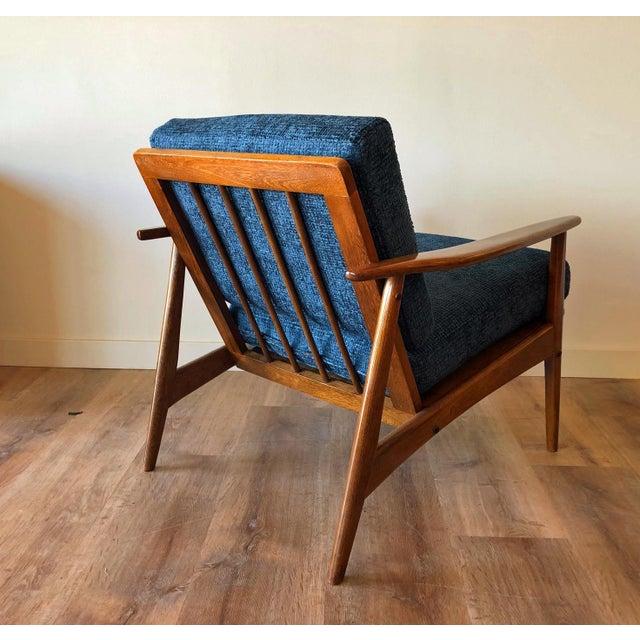 Mid-Century Modern Mid-Century Modern Walnut Arm Chair For Sale - Image 3 of 13