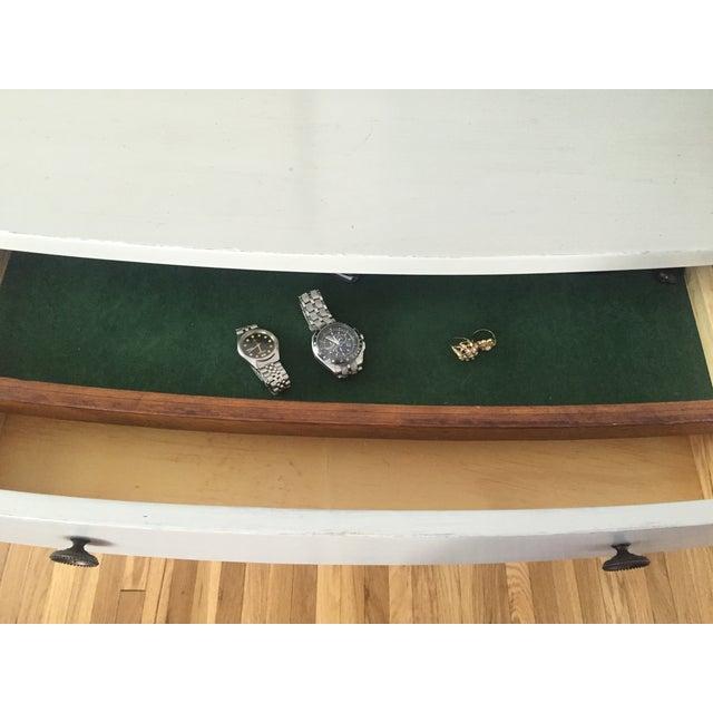 Shabby Chic Light Gray Dresser - Image 7 of 11