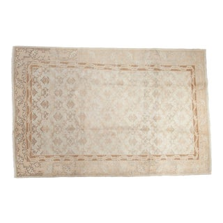 "Vintage Distressed Sparta Carpet - 6'9"" x 10'2"" For Sale"
