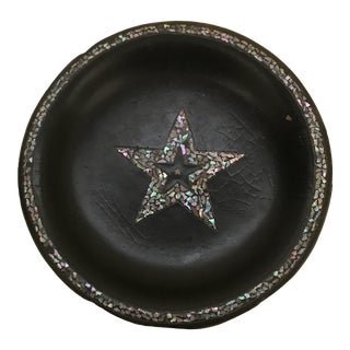 Mother of Pearl Inlaid Dish For Sale