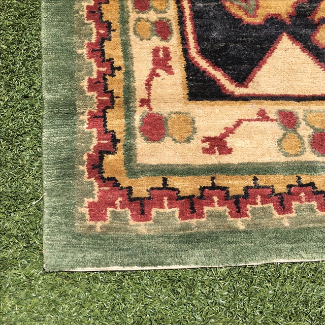 Large Handknotted Nepalese Rug - 9′ × 11′9″ - Image 3 of 11