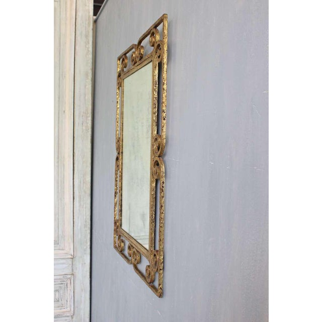 Spanish Gilt Metal Mirror - Image 6 of 10