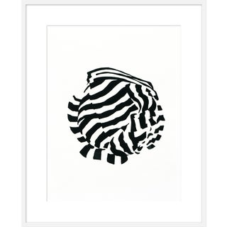 "Large ""White Knot 1"" Print by Angela Chrusciaki Blehm, 35"" X 43"" For Sale"